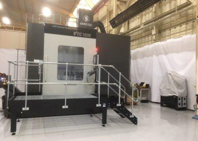 Platform for Access to CNC Machine