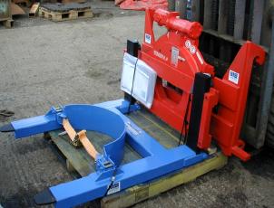 Heavy-duty-forklift-truck-mounted