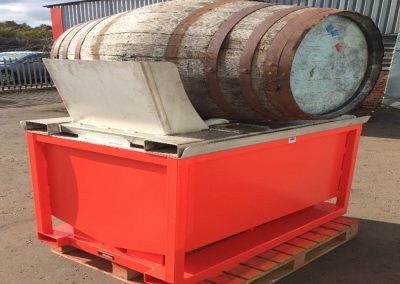 System for decanting individual whisky casks